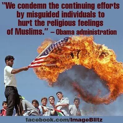 Obama defending muslims