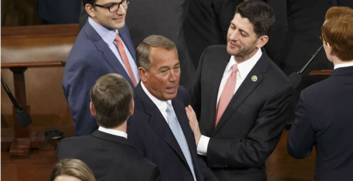 House re-elects Boehner as speaker over conservative opposition January 6, 2015 ~ Lorra B. http://lorrab.wordpress.com/2015/01/06/house-re-elects-boehner-as-speaker-over-conservative-opposition/comment-page-1/#comment-2347