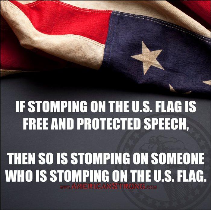 StompingOnUSFlag